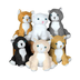 plush realistic cats little love making