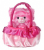 aurora plush milly pinkest kitten carrier