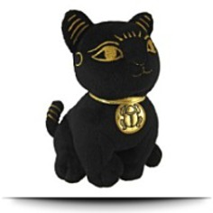 Buy Black And Gold Bastet Cat Kitten Egyptian