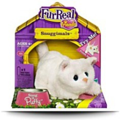 Buy Fur Real Friends Snug A Puffy White Kitten