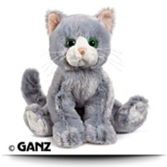 Buy HM222 Silversoft Cat Plush Animal