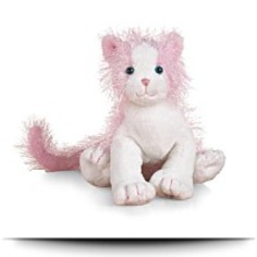 Pink And White Cat