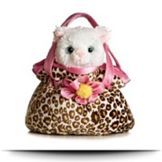 Plush Pretty Kitty Fancy Pal Purse