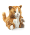 orange tabby kitten puppet soft striped