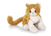 ganz lil'kinz plush orange gold white